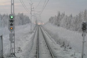 Somewhere on the way to Kiruna (Sweden)